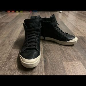DIESEL S-NENTISH HIGH ANKLE SHOES